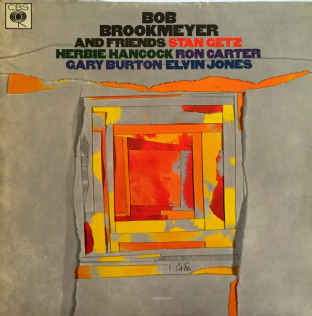 Bob Brookmeyer ‎- Bob Brookmeyer And Friends (LP) (VG+/EX-)